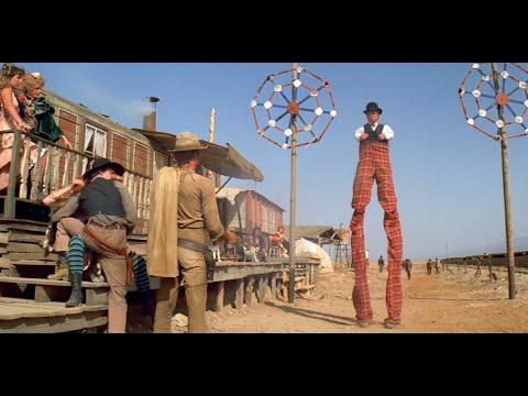 My Name Is Nobody (1973) Stilt Walker Shot Down   50fps 1080p HD