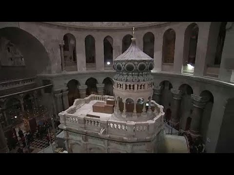 Τι λέει στο euronews η Α.Μοροπούλου για τα ευρήματα του Πανάγιου Τάφου