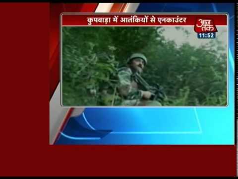 1 jawan martyred in gunbattle between Army  militants in Kupwara 30 August 2014 12 PM