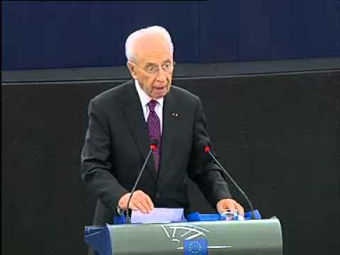 European Parliament - Address by President Shimon Peres to the European Parliament Fint the text with