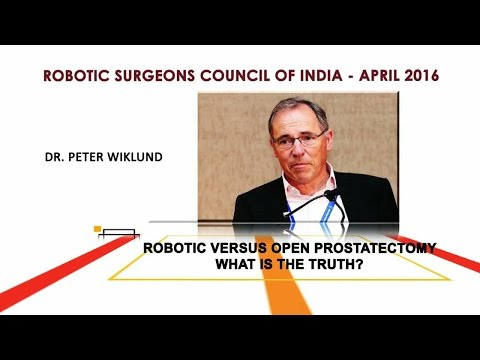 Robotic vs. Open Prostatectomy- What is the Truth