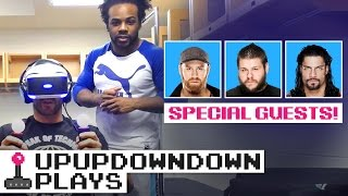 CESARO plays THE LONDON HEIST VR feat. KEVIN OWENS, ROMAN REIG...