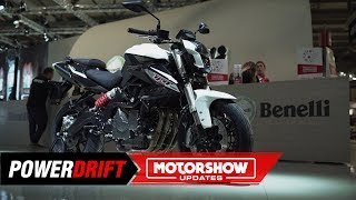 3. 2020 Benelli TNT 600 : Loud and heavy : EICMA 2019 : PowerDrift