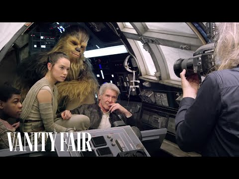 """Watch the """"Star Wars"""" Cast on Set for """"Vanity Fair's"""" Cover Shoot"""