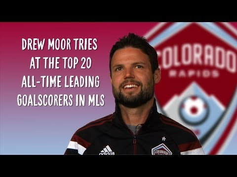 Video: Drew Moor takes the MLS leading goalscorer quiz