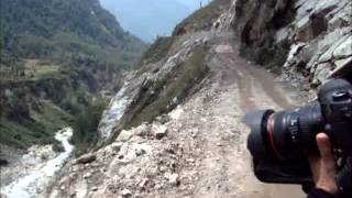 Lachung India  City pictures : Scenic But Scary Drive Near Lachung In North Sikkim, India.