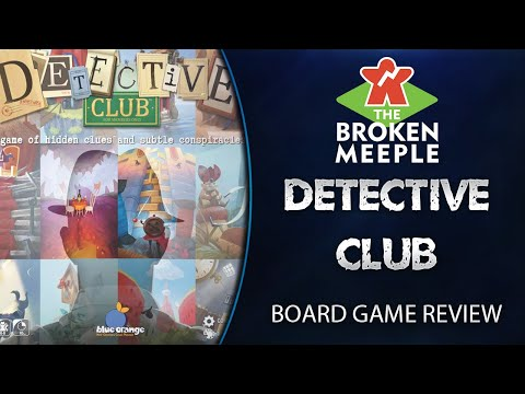 Detective Club Review - The Broken Meeple