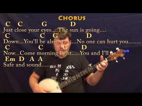 Magnificent Safe And Sound Taylor Swift Guitar Chords Vignette ...