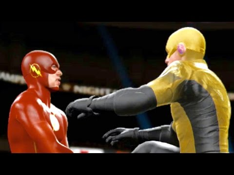 WWE 2K16 - Flash Vs. Reverse Flash