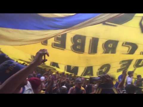 Telon/Trapos de RiBer - Día del hincha de Boca 12-12-16 - La 12 - Boca Juniors