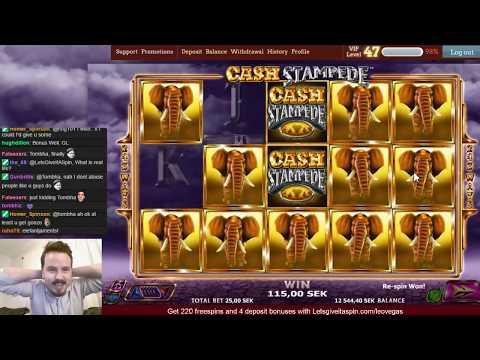 Super Mega Ding Ding win in Cash Stampede