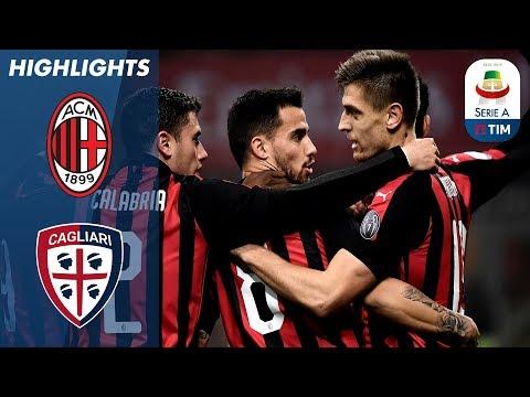 AC Associazione Calcio Milan 3-0 Cagliari Calcio