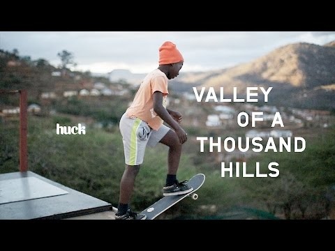 First generation of skaters in rural South Africa.