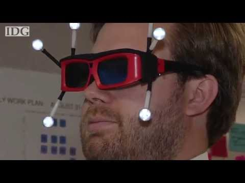 Construction workers trade hard hats for 3D glasses