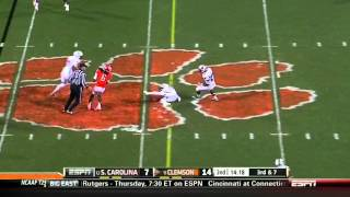 DeVonte Holloman vs Clemson (2012)