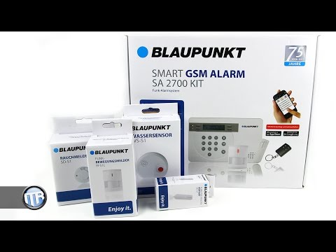 Blaupunkt Alarmanlage im Test - SA2700 StarterKit [Deutsch]