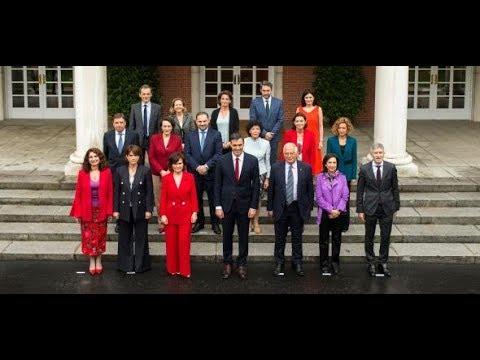 PEDRO SÁNCHEZ: Neue spanische Regierung vereidigt
