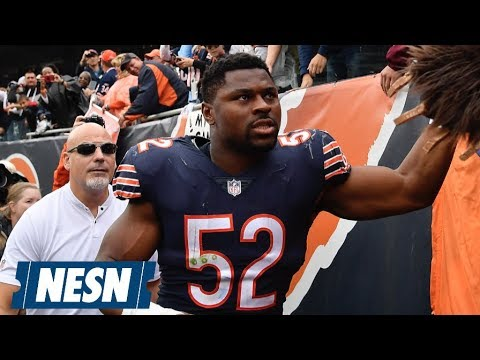 Video: Khalil Mack (Ankle) Will Be Hobbled In Week 7 vs. The Patriots