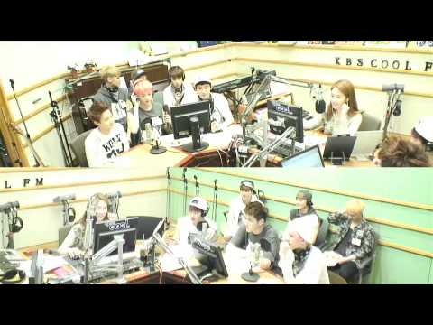 130621 KBS Yoo In Na - D.O, Luhan and Chen singing Open Arms