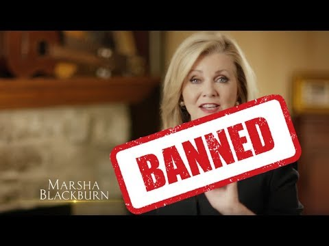 Twitter Pulls Marsha Blackburn Campaign Ad for Being