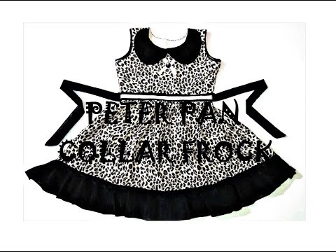 Video Peter Pan collar frock with frills - drafting, cutting & stitching download in MP3, 3GP, MP4, WEBM, AVI, FLV January 2017