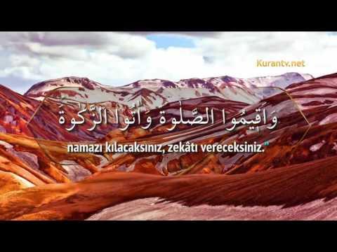 Bakara Suresi (61-108) Nasser al Qatami Kur'an-ı Kerim Tilaveti