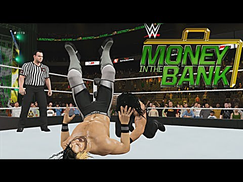 WWE Money in the Bank 2016 Roman Reigns vs Seth Rollins WWE World Heavyweight Championship (WWE2K16)