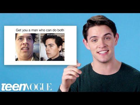 Riverdale's Casey Cott Reviews Riverdale Memes | Teen Vogue