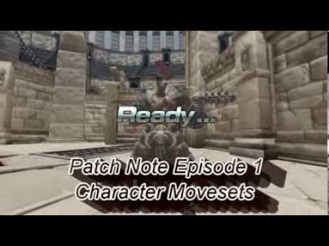 PatchNote Episode 1 — Character Movesets