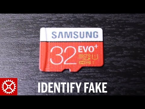 How to Identify a Fake Samsung Micro SD Memory Card