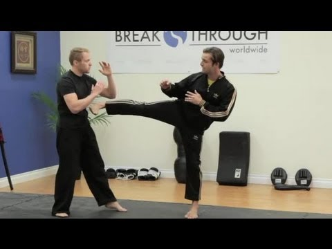How to Kickbox With a Leg Snap : Martial Arts Techniques