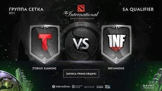 Torus Gaming vs Infamous, The International SA QL [Lum1Sit, Mortalles]