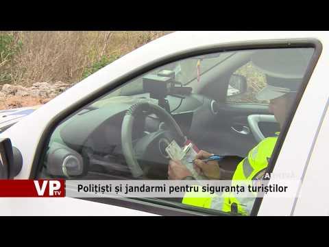 Politisti si jandarmi pentru siguranta turistilor