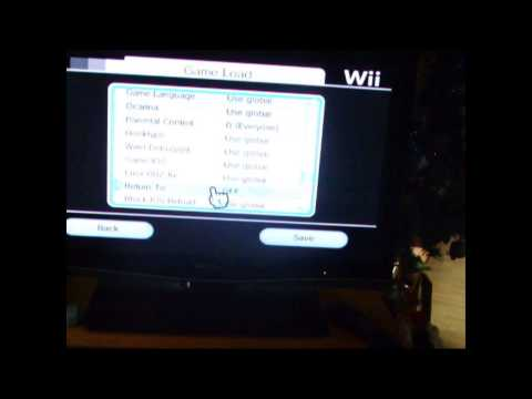 comment demarrer une wii cracker