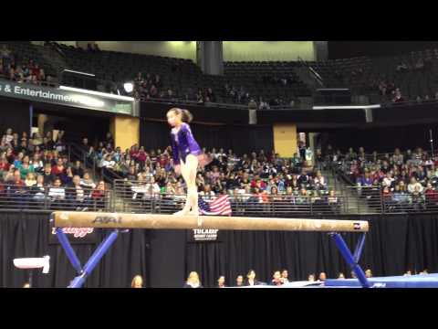Katelyn Ohashi - Balance Beam Finals - 2012 Kellogg's Pacific Rim Championships - 1st