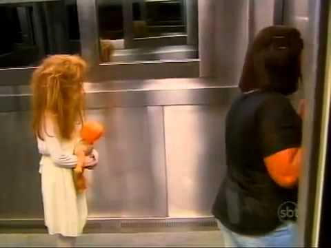 scare - Brazilian TV Show uses an elevator and a little girl to scare the hell out of people ! :)