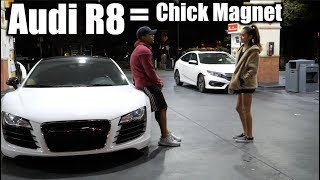 Video Picking up GIRLS in AUDI R8! (Like A BOSS) MP3, 3GP, MP4, WEBM, AVI, FLV Juni 2019