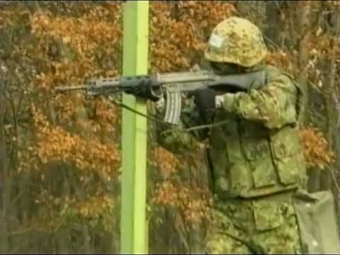 Firing Howa Type 89 5.56mm Assault Rifle - Japan JGSDF & Law Enforcement Firearm