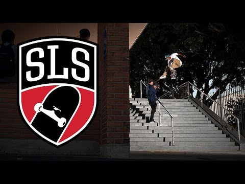 VINNIE BANH SLS TRICK OF THE YEAR HOLLYWOOD HIGH 16 STAIR !!!