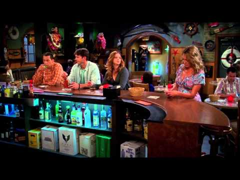 jenny - Clip from the show 'Two and Half Men' season 11 episode 7 'Some Kind of Lesbian Zombie.'