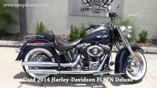 9. Used 2014 Harley Davidson Softail Deluxe for sale ebay