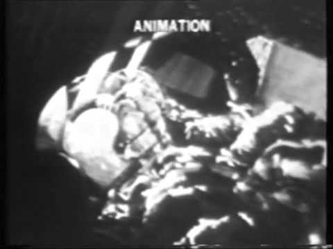 Launch of Apollo 12 Saturn V and lightning strike on rocket, original NBC TV