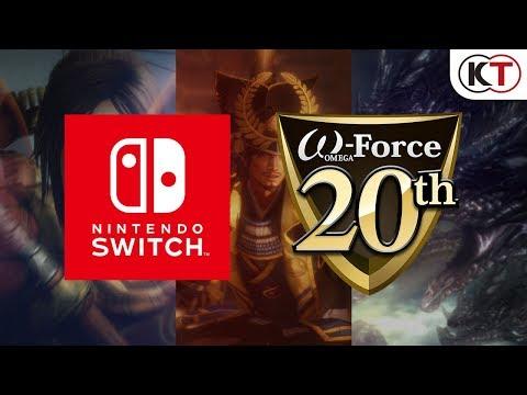 Nintendo Switch版 無双シリーズ3タイトルプロモーション映像