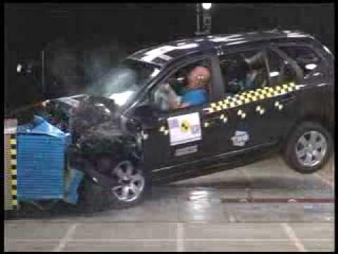 Kia Carens Краш-тест Kia Carens от EuroNCAP. Фронтальный удар