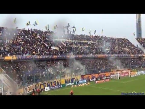"""""""Recibimiento"""" - Rosario Central (Los Guerreros) vs Velez - 2016 - Los Guerreros - Rosario Central"""