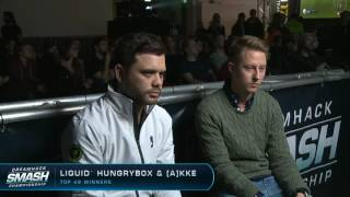 TIL that Hungrybox played a streamed set against a world champion Dota 2 pro ([A]lliance.Akke)