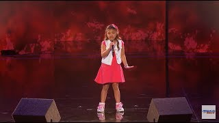 Video Angelica Hale 9-Year-Old Earns Golden Buzzer From Chris Hardwick - America's Got Talent 2017 HD MP3, 3GP, MP4, WEBM, AVI, FLV September 2017