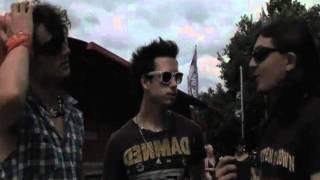 The Metalheadz- Sonisphere Festival UK 2010- Heaven's Basement Interview