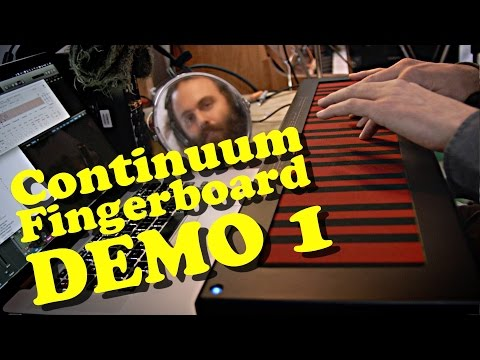 Continuum Fingerboard - Cuckoo Demo 1