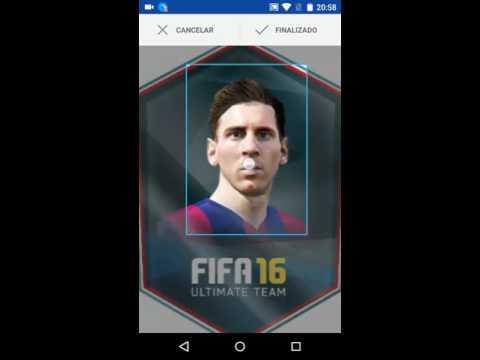 Como Criar Cartinha Personalizada (Com a sua Foto) do Ultimate Team FIFA 16